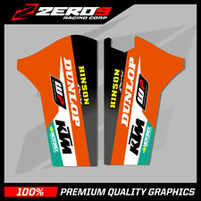 KTM SX SXF 2008 - 2014 EXC 2008 - 2015 LOWER FORK DECAL MX GRAPHICS STICKER - TI