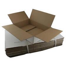 20 x White Cardboard Boxes 365x280x95mm White Packaging Carton Cardboard Box