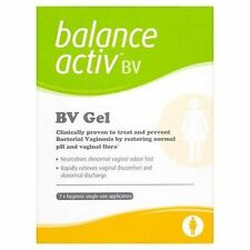 Balance Activ BV Vaginal Gel to Treat and Prevent Bacterial Vaginosis 7 Tubes