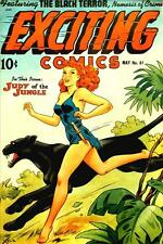 Exciting Comics #61 Photocopy Comic Book, Black Terror, Judy of The Jungle