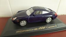 Porsche 911 (996) Carrera 2 in Blue - 1:43 scale
