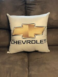 Handmade Chevrolet Pillow (Chevy)