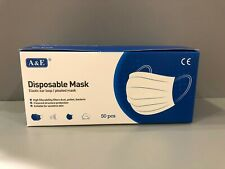 Mundschutz 3-lagig 50 Stück / Einwegmaske / OP-Masken