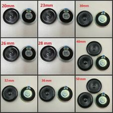 20mm-27mm Diameter 1W,8 Ohm Small Loud Speaker For Toys,Cellphones And Doorbells