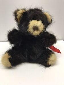 Rare Bear Third Generation Mink Fur Numbered 139924 W/ Tag