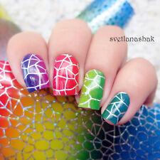 Nail Art Transfer Foils Sticker Gradient Holographic Paper Decoration Tips