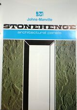 Johns Manville ASBESTOS Stonehenge Architectural Panels