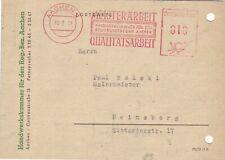 BRD AFS  Brief : Aachen 10.02.1951