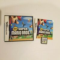 New Super Mario Bros. Nintendo DS Complete with Game Manual CoverArt CIB
