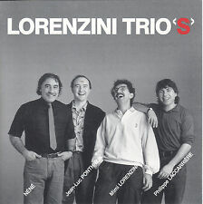 Lorenzini Trios with Mimi Lorenzini (CD 1989 Musea) Nene/Prog Jazz Rock/Triangle