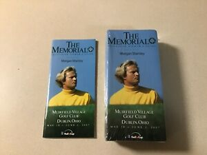 PACK OF 25 JACK NICKLAUS 2007 MUIRFIELD MEMORIAL GOLF TOURNAMENT VIEWER'S GUIDE