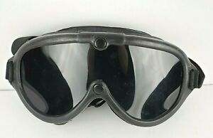 VTG Welding/Safety Goggles BLACKOUT (B) Bouton Steam Punk Made USA Collectible