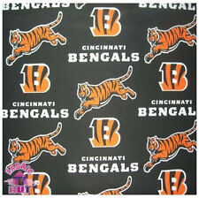 Cincinnati Bengals NFL 100% Cotton Fabric 6282 D