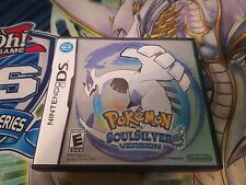 Pokemon: SoulSilver (Nintendo DS, 2009) Case And Manual Only