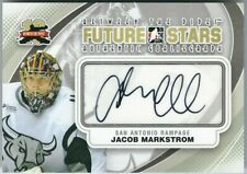 11-12 ITG Between The Pipes Jacob Markstrom Future Stars Goaliegraph Auto