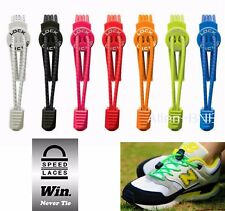 Elastic Shoe Lock Laces Sports Triathlon Running Race Speedlaces Genuine Nathan