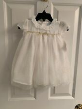 NWT-Infant Girls Edgehill Collection Ivory Dress-Size 9 Months