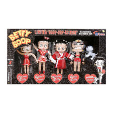 Betty Boop Bendable Collectible 5 Piece Set NJ Croce 119508