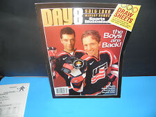2002 Winter Olympic Games USA Hockey Day 8 SI The Boys Are Back Program