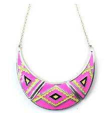 *Forever21* colorful funky short necklace Egypt Style  J28