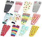 New Baby Toddler Boys Girls Xmas Long Leggings Arm Leg Warmers Socks 1 Pairs