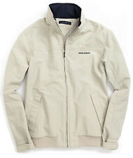 NWT TOMMY HILFIGER men's Jacket size-Large, color-Beige, Front & Inside Pockets