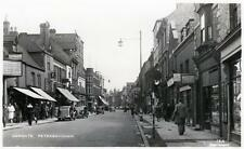 Cowgate Peterborough unused RP old postcard Good Condition