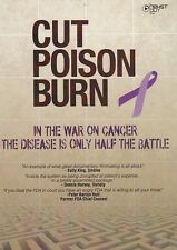 Cut Poison Burn DVD - Cancer, Radiation, Chemo, Health, Diet, Healing