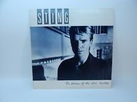 Sting  The Dream Of The Blue Turtles LP 1985 A&M SP-3750 ~ Translucent w/insert