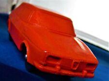 RED SAAB 99 COUPE NOTCHBACK SAAB PLASTIC SWEDEN LATE 69/70'S GOOD SHAPE SAAB 99