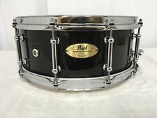 "Pearl Symphonic 14"" Diameter Maple Snare Drum/CRP1455-C103/Piano Black/NEW"