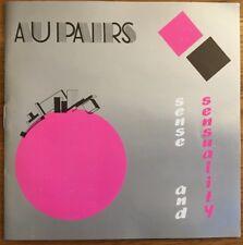 CD - au pairs - sense and sensuality - 1985 - sammlerstück - rarität !!!!