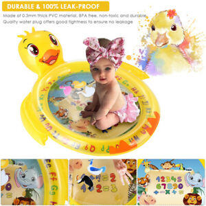 Inflatable Baby Water Mat Novelty Play for Kids Children Infants Funny