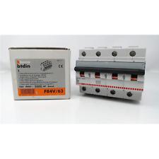 BTICINO INTERRUTTORE MAGNETOTERMICO 4P 63A 25K C 6 MODULI 250H F84V/63