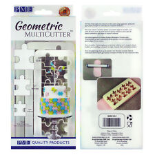 PME géométrique Multicutter de gâteau Glaçage coupeur Puzzle 0.75/1/ 1.25 pouce