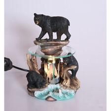 Bears Fragrance Lamp Tart Scent Oil Warmer Burner Electric Diffuser Polyresin