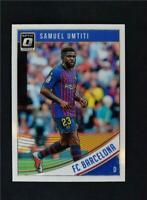 2018-19 Donruss Soccer Optic Base #6 Samuel Umtiti - FC Barcelona