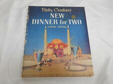 Old Vtg 1964 FIRST EDITION BETTY CROCKERS NEW DINNER FOR TWO Cookbook 1st Print