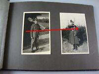 German WW2 Era Army Soldiers Photo Album 55 Photo's! Free Post Australia!