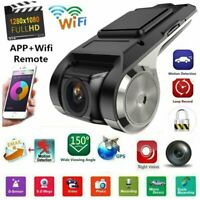 U6 Car Camera 1080P WIFI DVR Dash-Cam Video Recorder Camcorder Night Vision ~