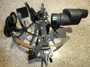 Vintage Used Tamaya Sextant with 7x35 Binocular Mfg Japan Original