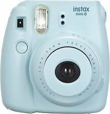 NEW Genuine Fujifilm Instax Mini 8 Instant Film Camera (Blue)