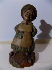 Cairn Studio Ink Signed Tom Clark Creations Gnome Colleen Figurine Signature