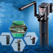 3in1 Filtro Interno de Acuario Oxígeno Bomba de Agua Sumergible Para Pecera Estanque