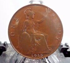 CIRCULATED 1915 1 PENNY UK COIN (71017)2