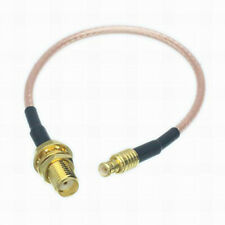 SMA Female Jack to MCX Male Plug Straight RF Pigtail Cable RG316 Cord Adapter
