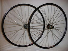 Velocity Major Tom CX disc brake alloy tubular wheels.