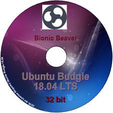 Ubuntu Budgie 18.04 -32 bit Desktop DVD Live/Install, light & lean Gnome based