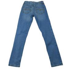 Justice Super Skinny Blue Denim Girl's Size 12 Slim
