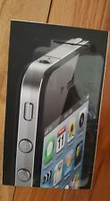 EMPTY BOX FOR A BLACK IPHONE 4s16GB INCLUDES ONLY WHAT IS SHOWN IN THE PHOTO!